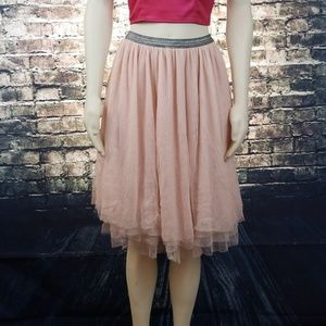 Light Pink Flowy Xhilaration Ballet Skirt